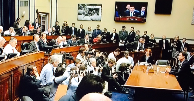 House Cmte hearing on FBI's decision to not prosecute Hillary Clinton
