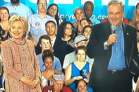 Hillary Clinton announced on July 22, that Sen Tim Kaine of Virginia will be her running mate.