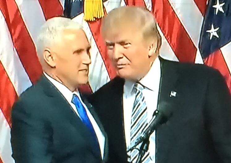 Gov Mike Pence (R-IND) is introduced as the GOP Vice Presidential candidate