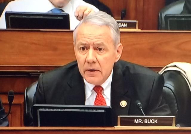 US Rep Ken Buck (R-NY)