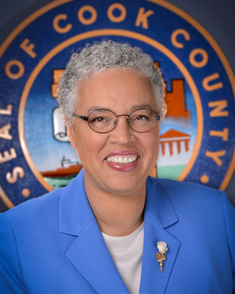 Cook County Board Chair, Toni Preckwinkle